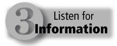 Listen for Information