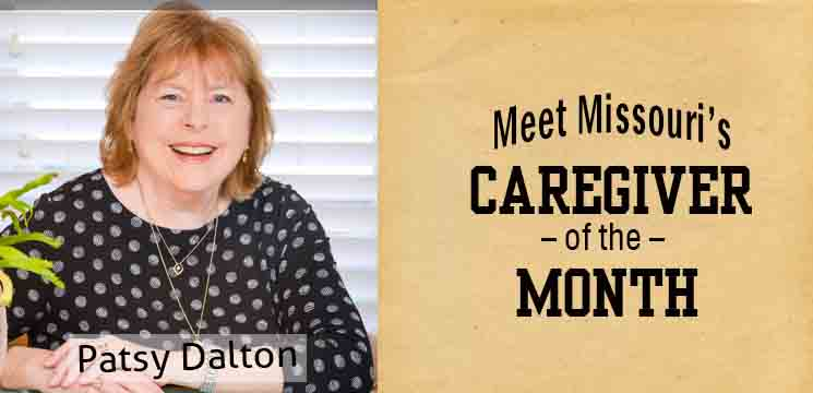 Patsy Dalton - Meet Missouri's Caregiver of the Month
