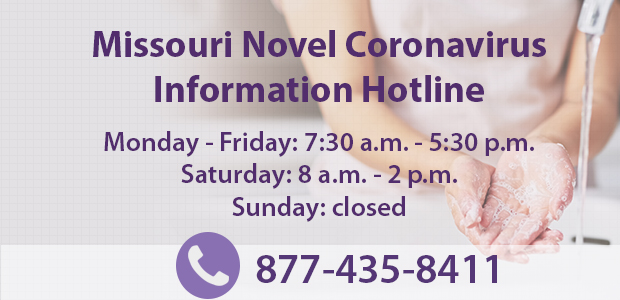 New hours for the Missouri COVID-19 hotline