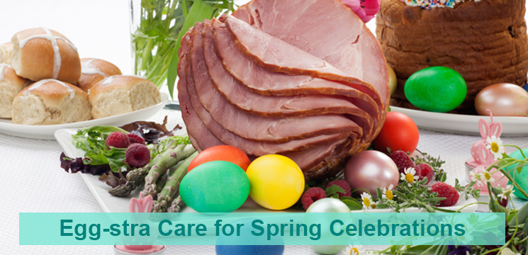 Extra Care for Spring Celebrations. Food Safety.