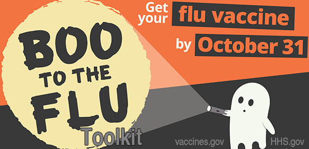 Get Your Flu Vaccine by October 31