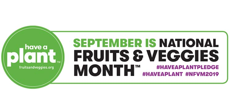 September is National Fruits and Veggies Month