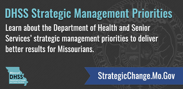 DHSS Strategic Management Priorities