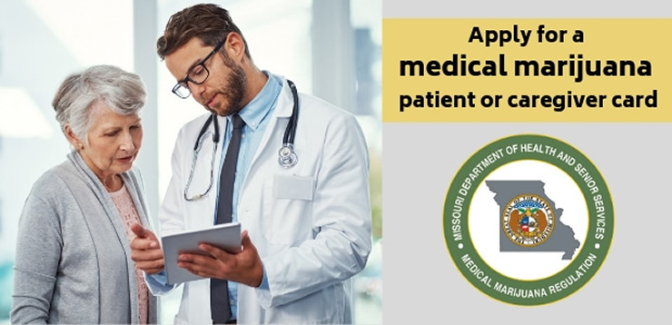 Apply for a medical marijuana patient or caregiver card