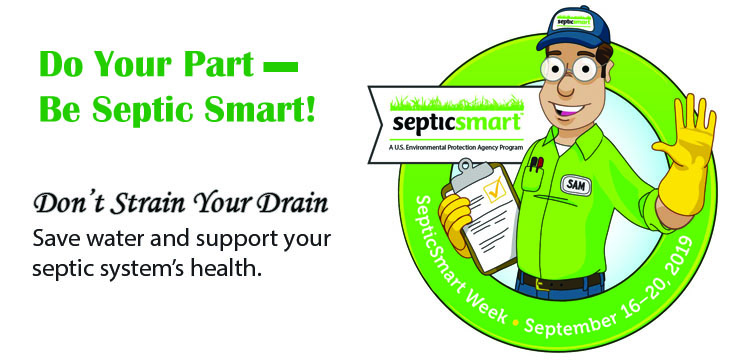 Do Your Part - Be Septic Smart