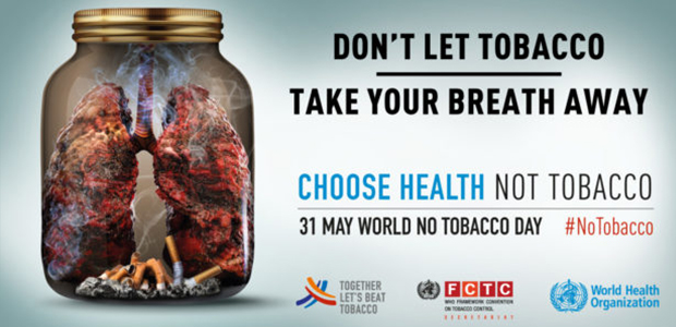 Don't Let Tobacco Take Your Breath Away