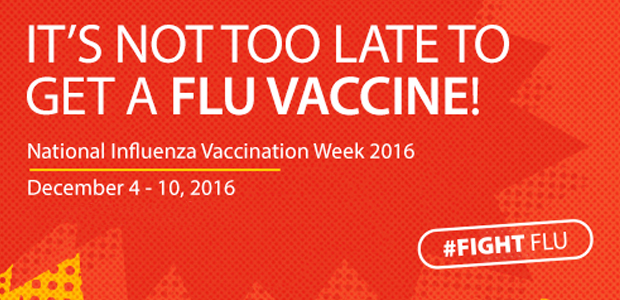 it's not too late - get a flu vaccine