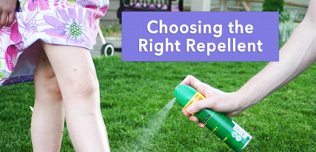 Choosing the right repellent
