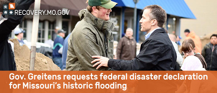 Gov. Greitens requests federal disaster declaration for Missouri's historic flooding