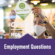 Employment information and COVID-19