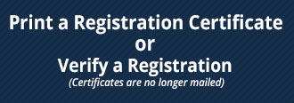 print a certificate or verify registration