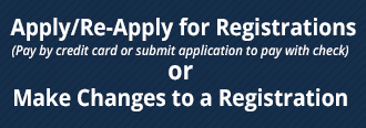apply for registration or make changes to a registration