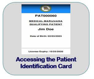 Accessing the Patient Identification Card